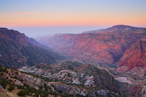 28 Feb 2008 --- Wadi Dana, Dana Nature Reserve, Jordan, Middle East --- Image by © Jochen Schlenker/Robert Harding World Imagery/Corbis
